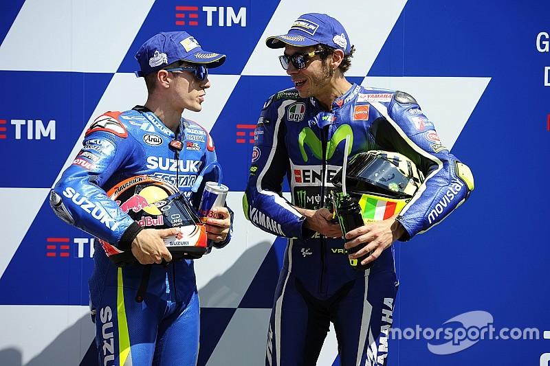 """Rossi: """"Slipstreamen was niet gepland: je volgt altijd anderen"""""""