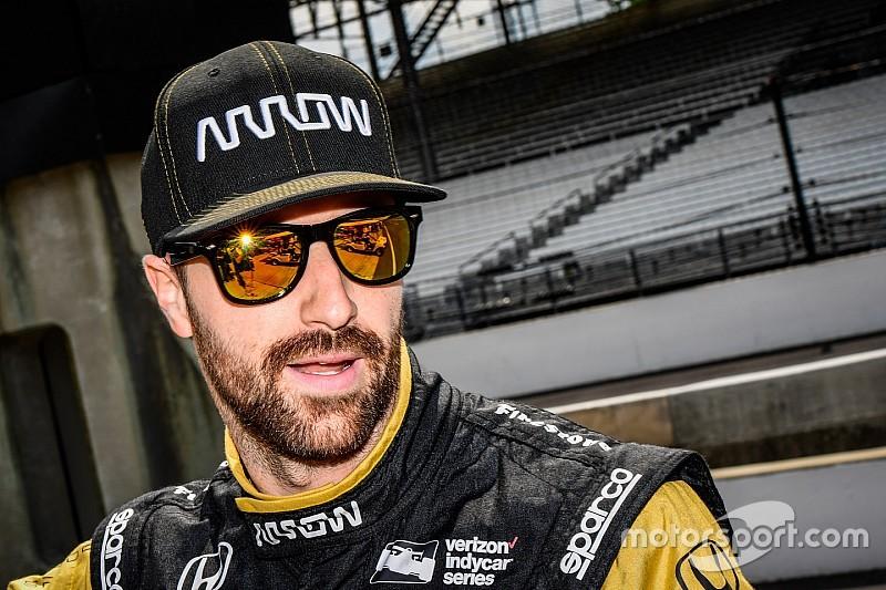 """Para Hinchcliffe, la calificación fue la """"más difícil"""" que haya tenido en Indy"""