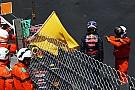Max Verstappen crasht tijdens kwalificatie in Monaco