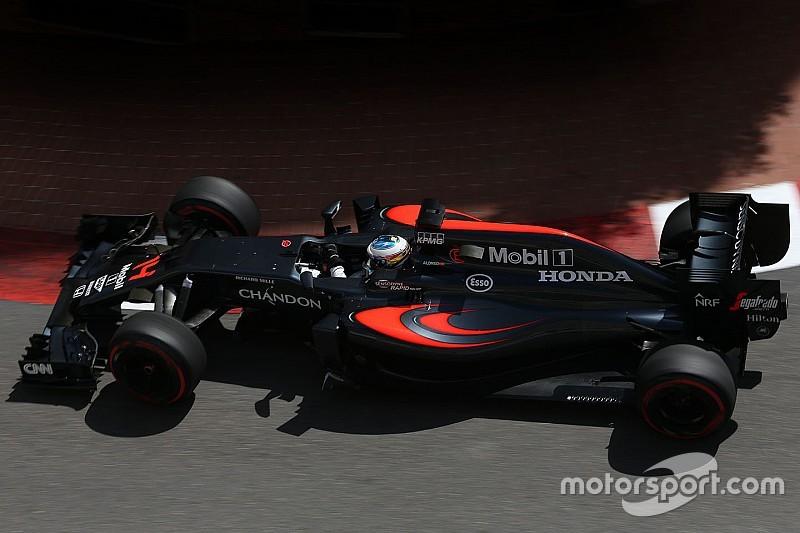 McLaren sigue luchando con las altas presiones de los neumáticos
