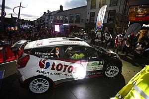 ERC Leg report Kajetanowicz leads Azores Rally by a second after Day 1