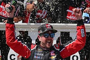 Monster Energy NASCAR Cup Raceverslag Kurt Busch wint in Pocono, Stewart en Patrick crashen
