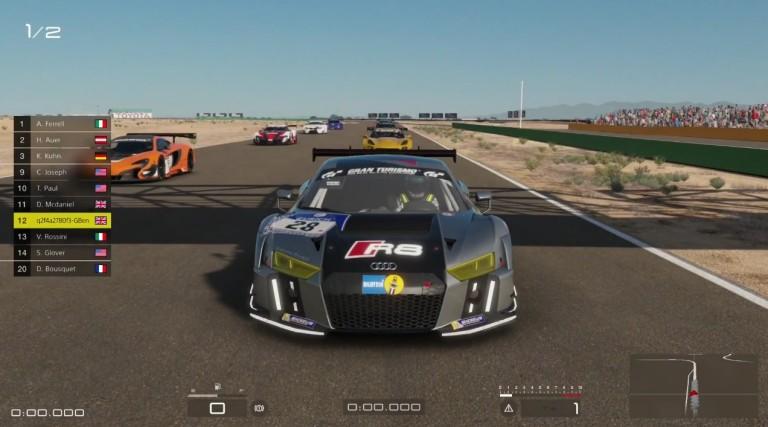 Gran Turismo Sport: Audi R8 LMS versenygéppel Willow Springsben