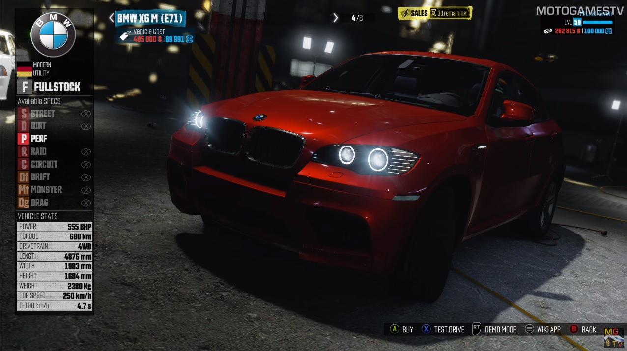 The Crew Wild Run: csapatás egy BMW X6 M géppel!