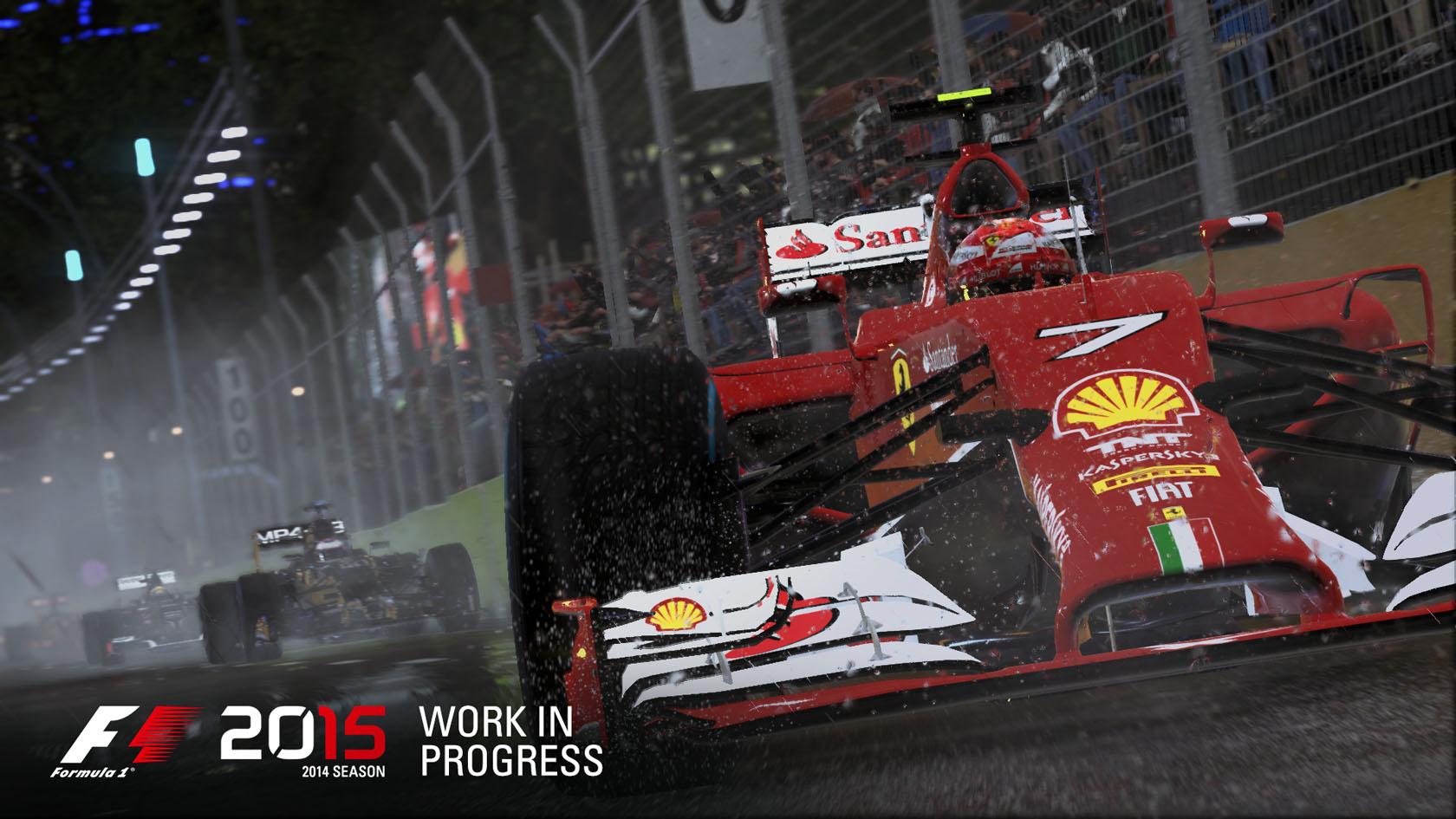 Hivatalos: Bejelentették az F1 2015 játékot! Sokkal szebb és reálisabb lesz! Júniusban érkezik PC-re és a next-gen konzolokra