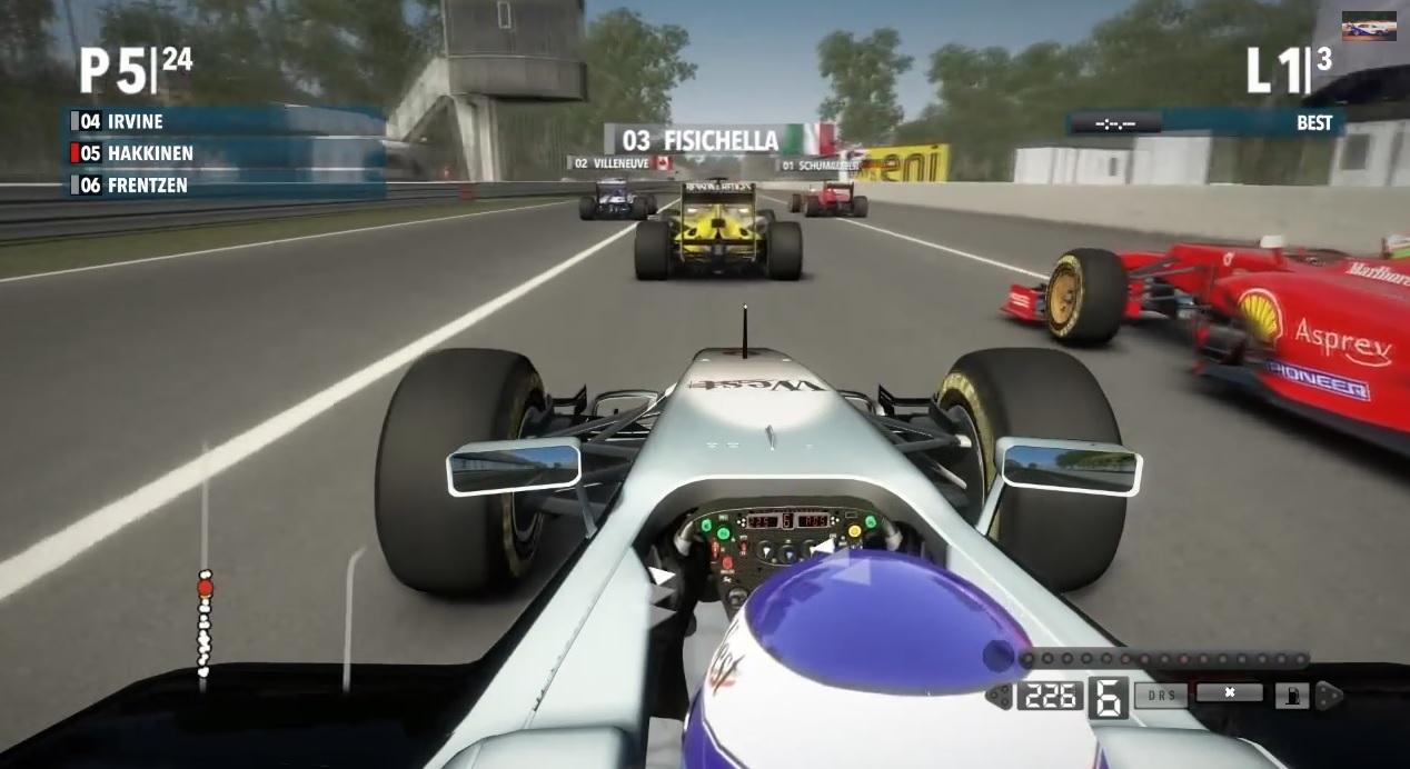 1997-es játékmód! Rommá veri az eredeti F1-es gamet! ROMMÁ!