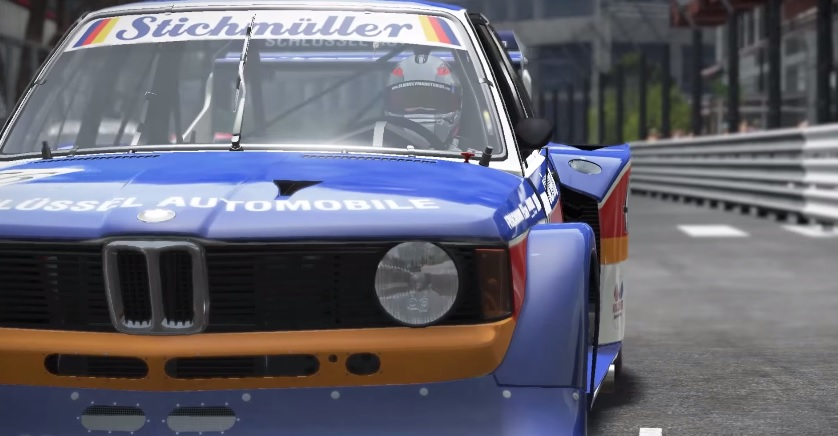 Project CARS: BMW 320 Turbóval Monacóban