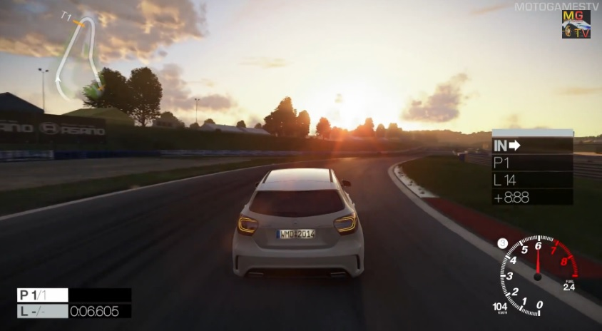 Project CARS: Mercedes A45 AMG-vel Oscherslebenben