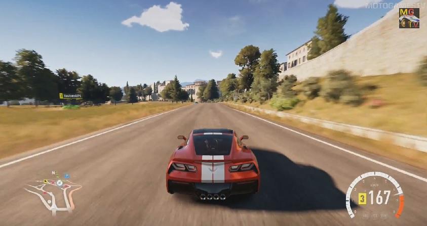 Forza Horizon 2: Csapatás a virtuális Chevrolet Corvette Stingray sportautóval (Xbox One)