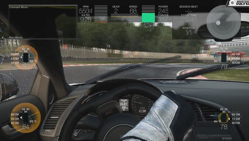 Project CARS: Audi R8 V10 Plusz az esős Brands Hatch-ben