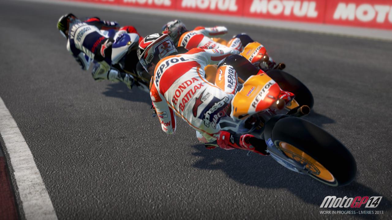 MotoGP 14: Mozgás közben a játék