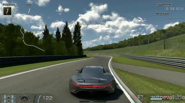 Így repeszt a brutális AMG Vision Gran Turismo a Nordschleife versenypályán