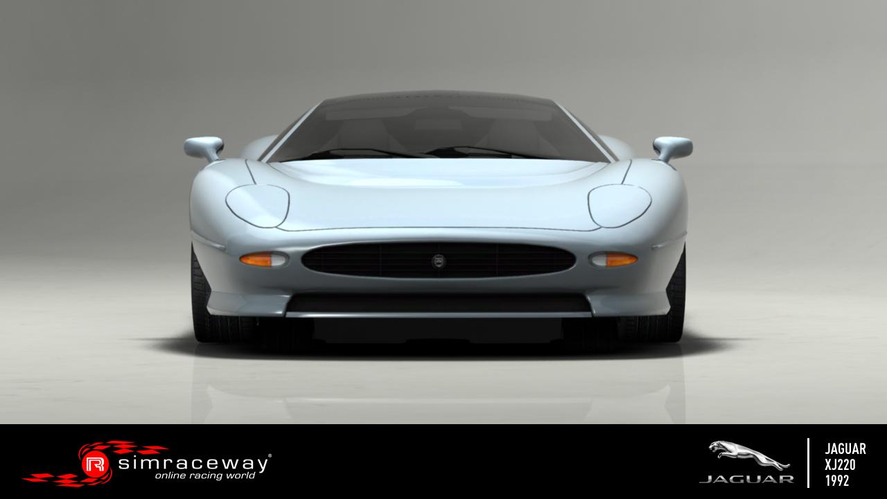 Simraceway: Érkezik a Jaguar XJ220