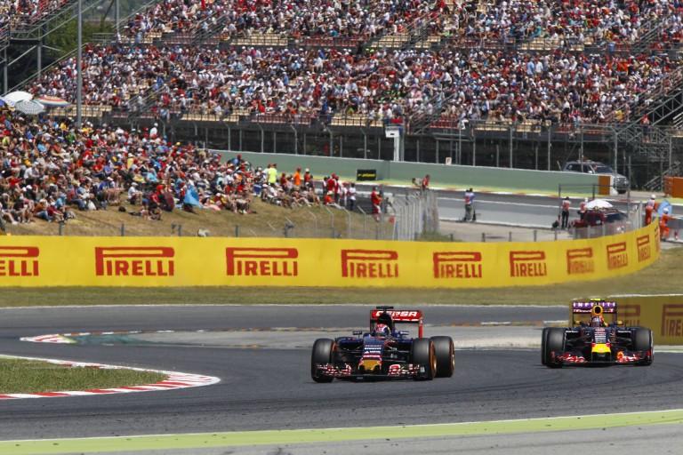 A Spanyol Nagydíjon Kvyat és Verstappen egymás gumiválasztásával versenyez majd!