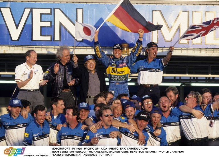 Schumacher 12. győzelme a Forma-1-ben: alázott a Benettonnal