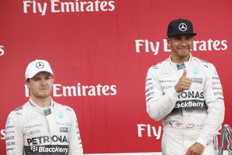 """Hamilton: """"Versenybaleset volt, kész, pont"""""""