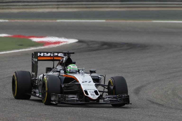 Hülkenberg nagyon elégedett a meglepő 8. rajthelyével Bahreinben!