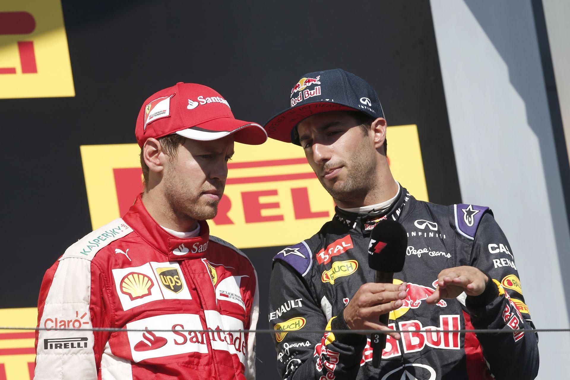 Vettel és Ricciardo szerint az új időmérős ötlet sz*r az egyesített körökkel!
