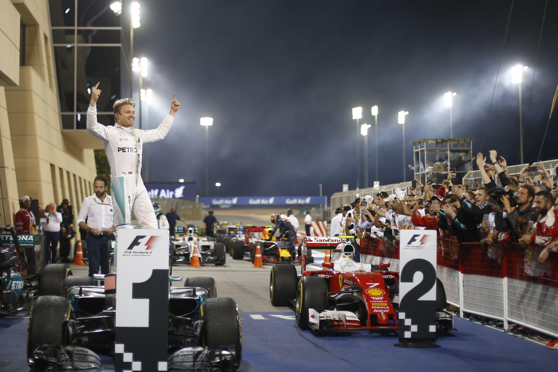 A statisztika Rosberg mellett szól: ha megvan az első két futam, megvan a cím is?