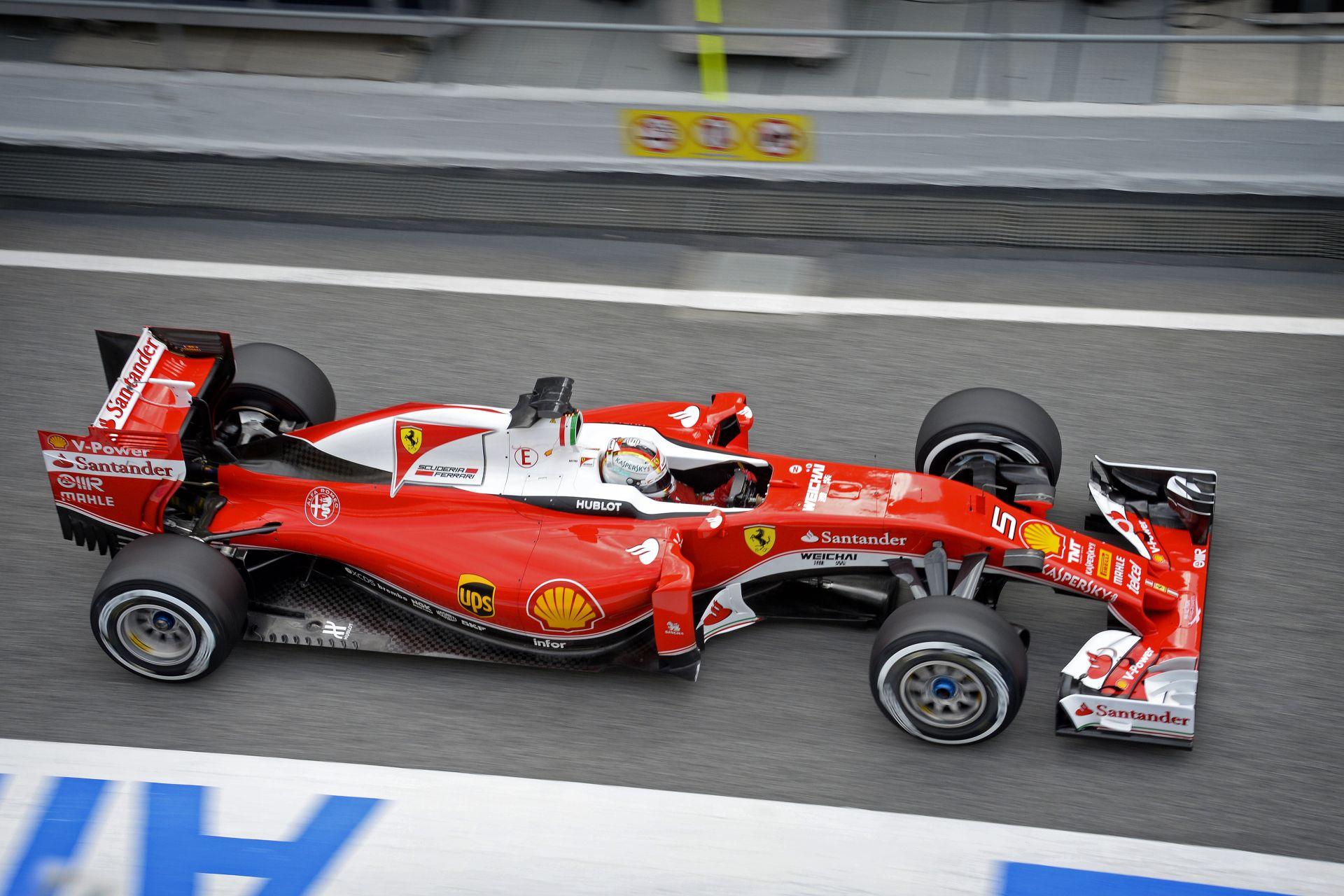 Ennyire gyors a Ferrari a kerékcserénél: Barcelona
