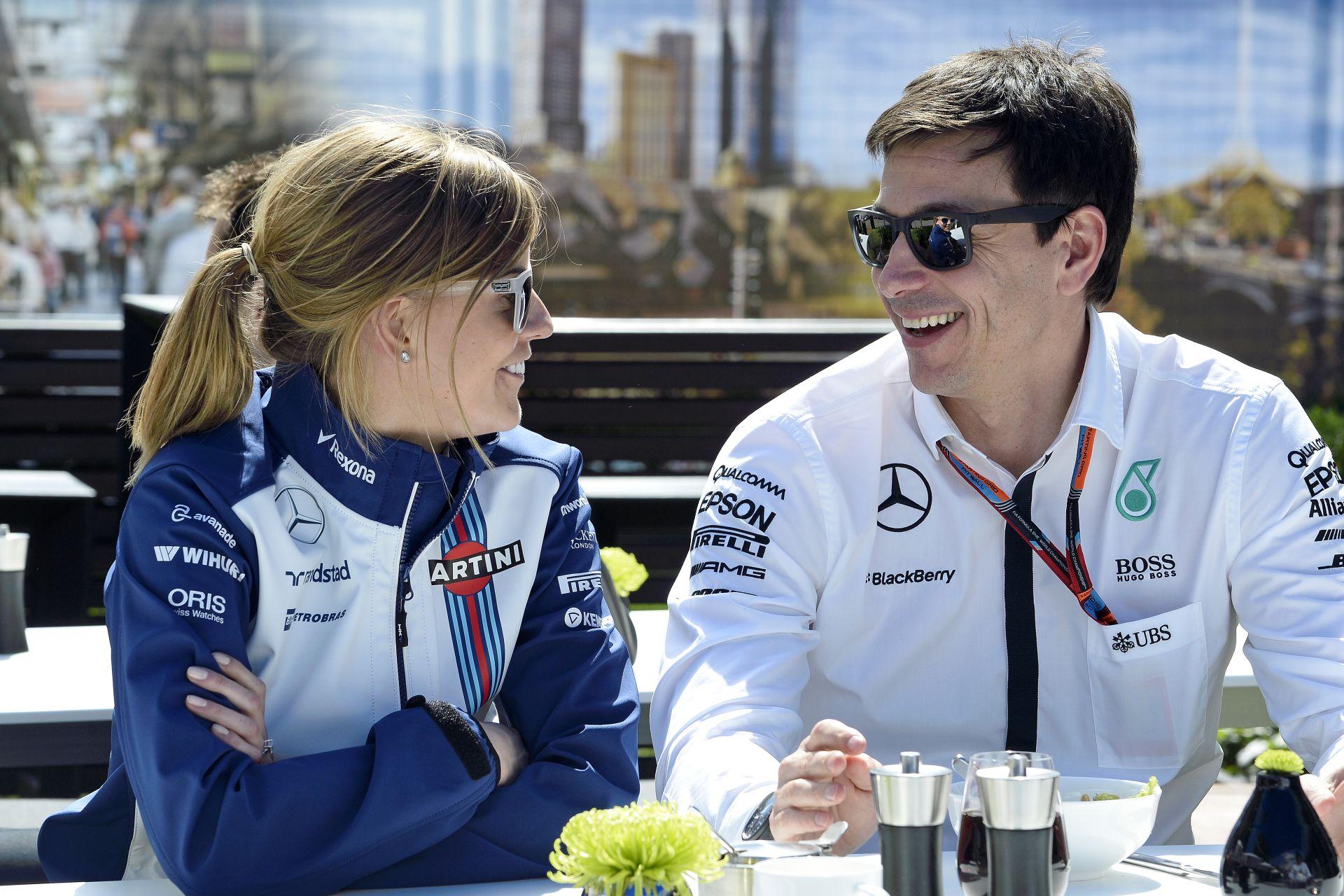 A Mercedes csapatfőnöke eladta a maradék Williams részvényét is!