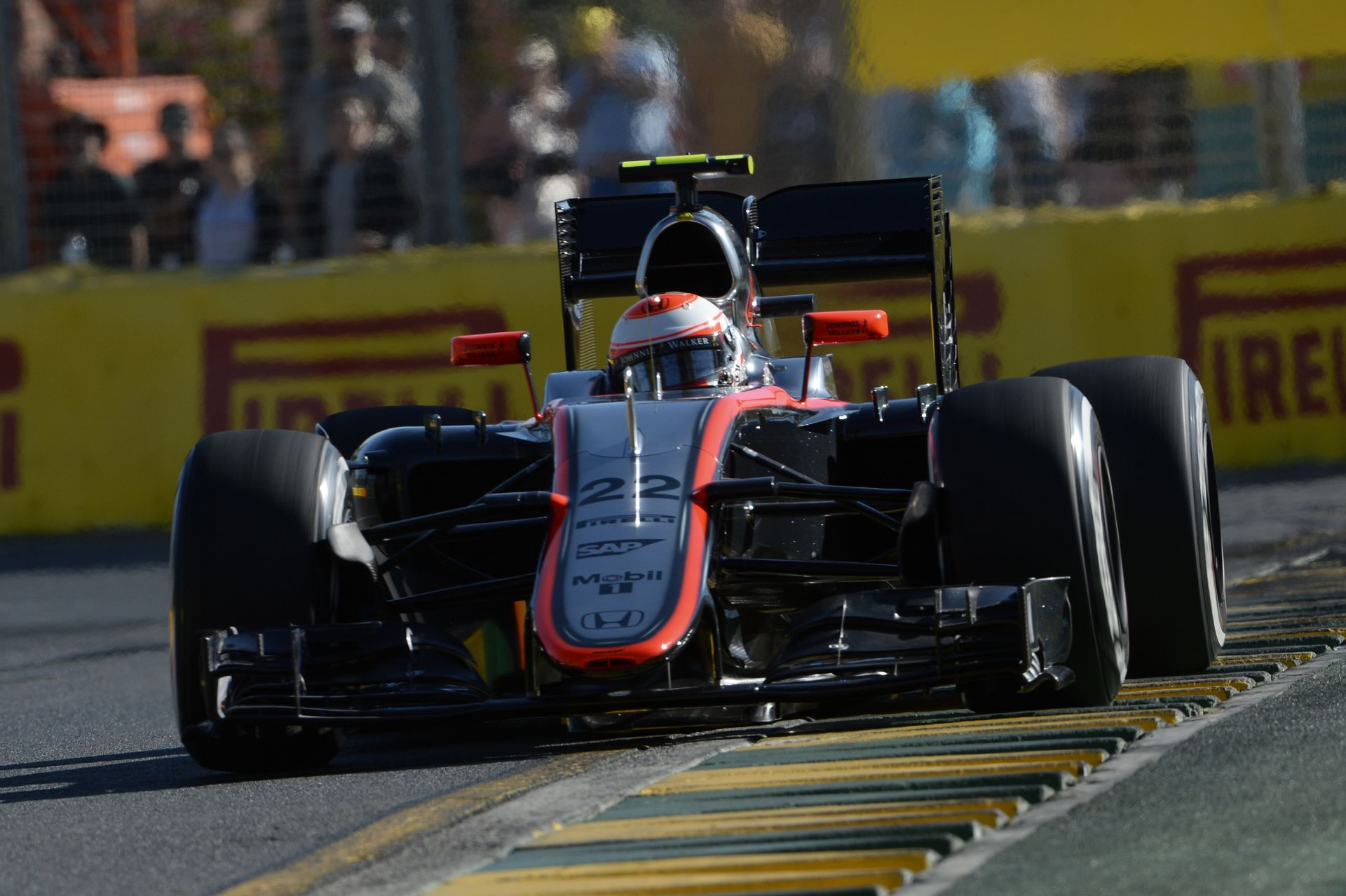 Button startja a McLaren-Hondával: Ausztrál Nagydíj