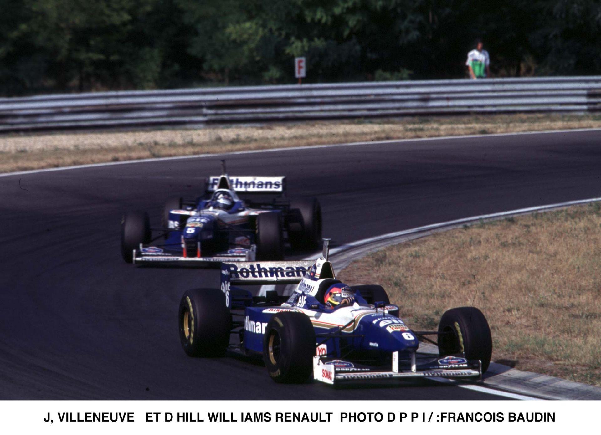 Damon Hill Vs. Jaques Villeneuve: Ausztrál Nagydíj 1996