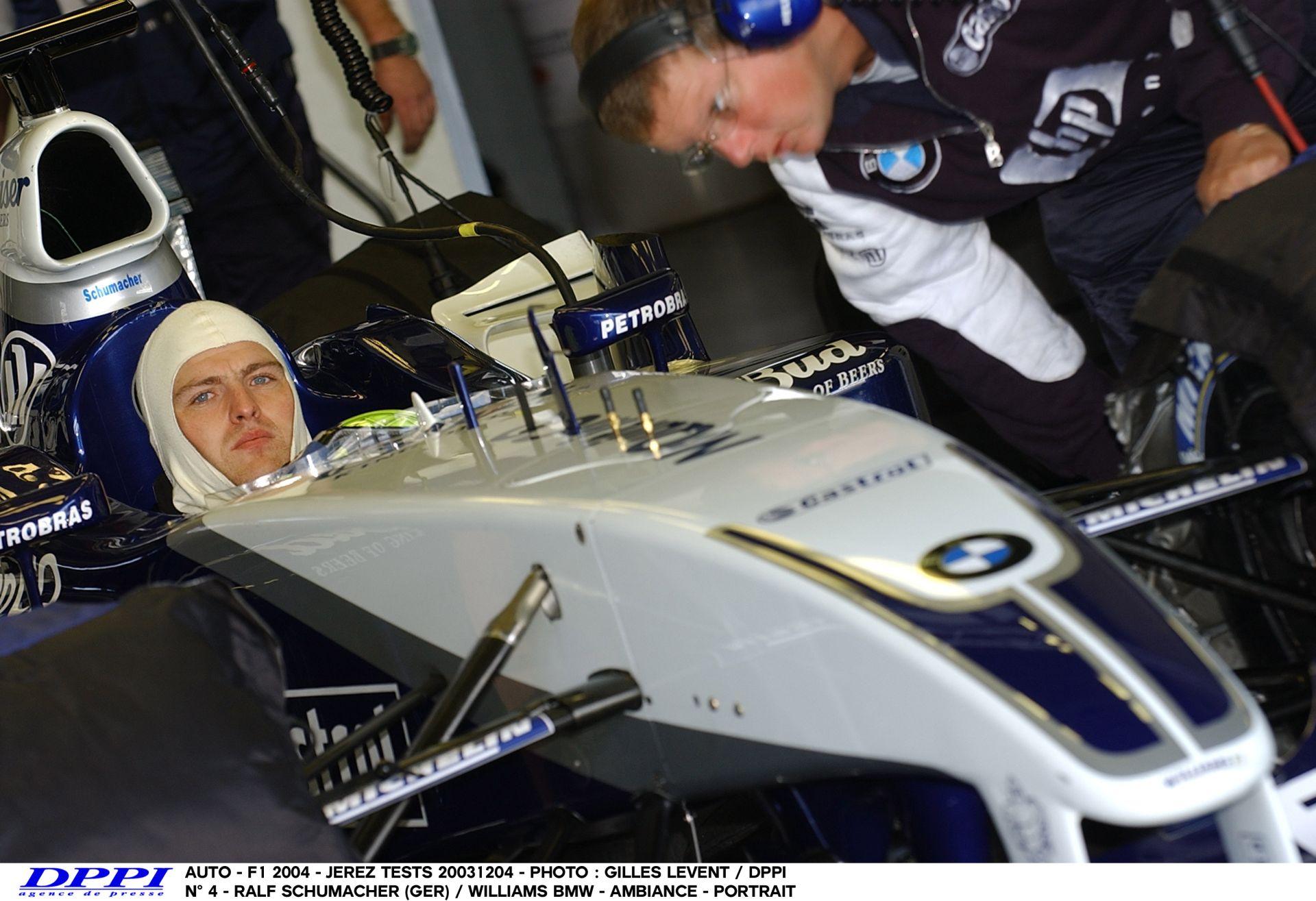 Ralf Schumacher küldi neki: 2003, Francia Nagydíj