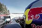 Nagyon komoly: belső kamerás felvételek, ahogy Verstappen küldi az F1-es gépnek a hóban
