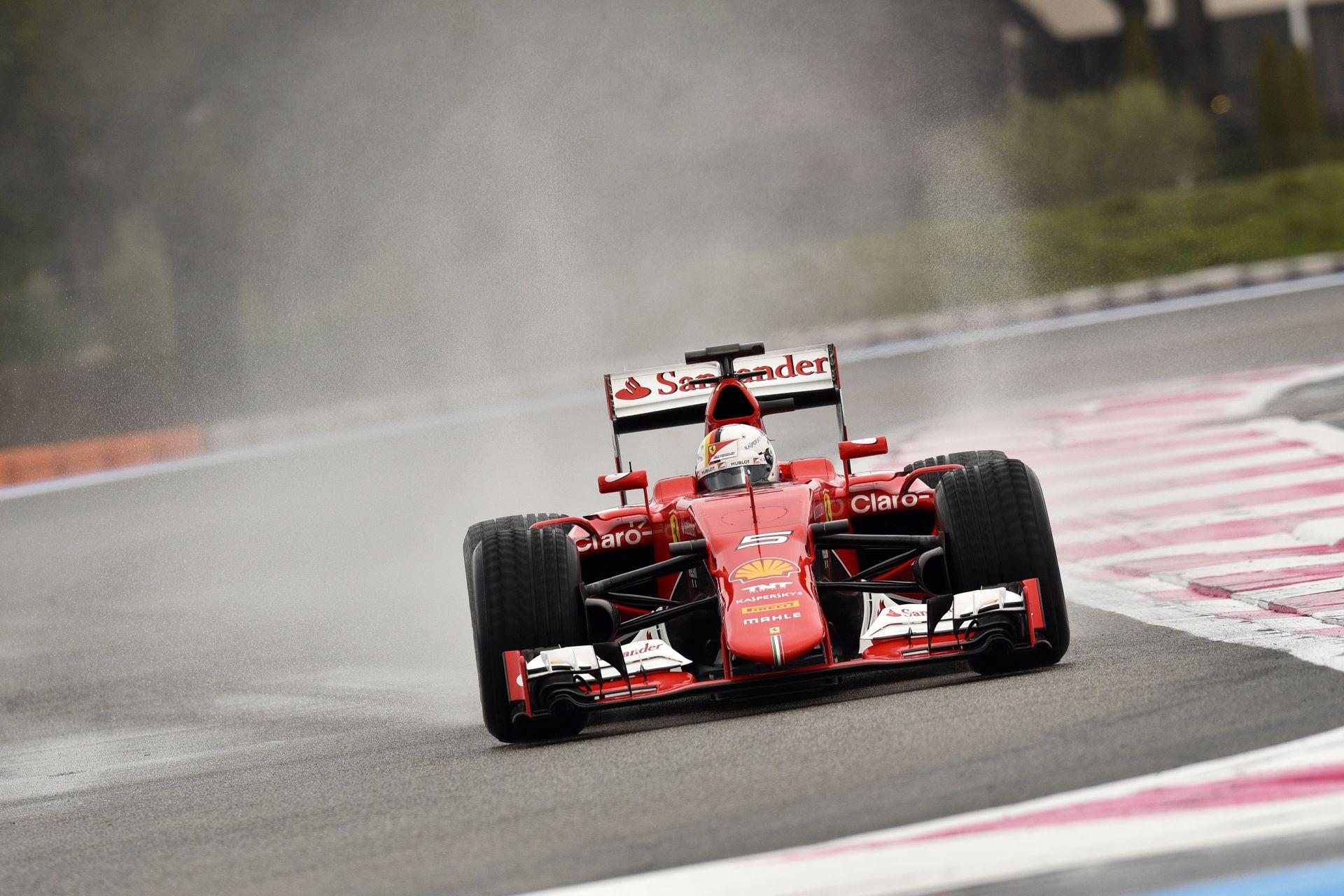 Vettel: az új Ferrari nem álldogál a központban csak úgy, bemutatásra várva
