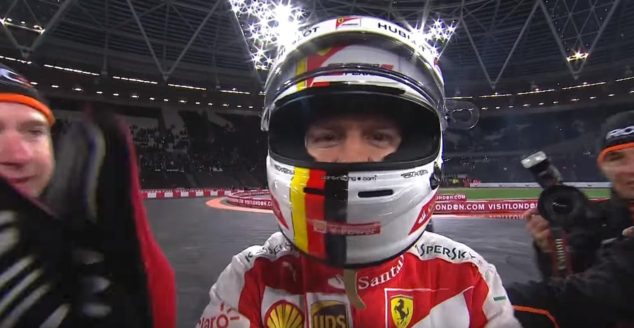Videón Vettel öröme a Bajnokok Tornája győzelmét követően