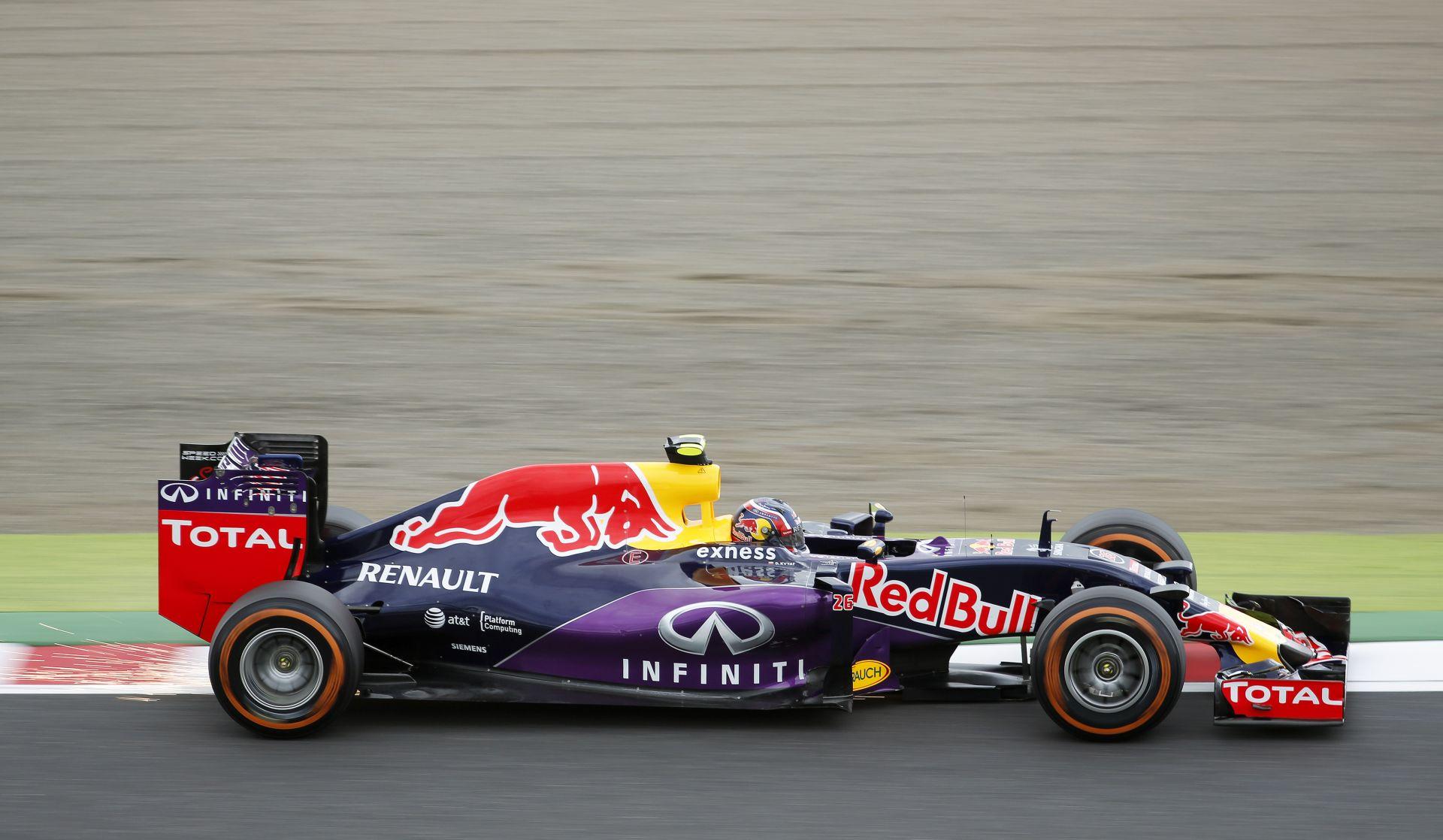 """Kvyat: """"Kiszáll a Red Bull? Nem foglalkozom most ezzel…"""""""