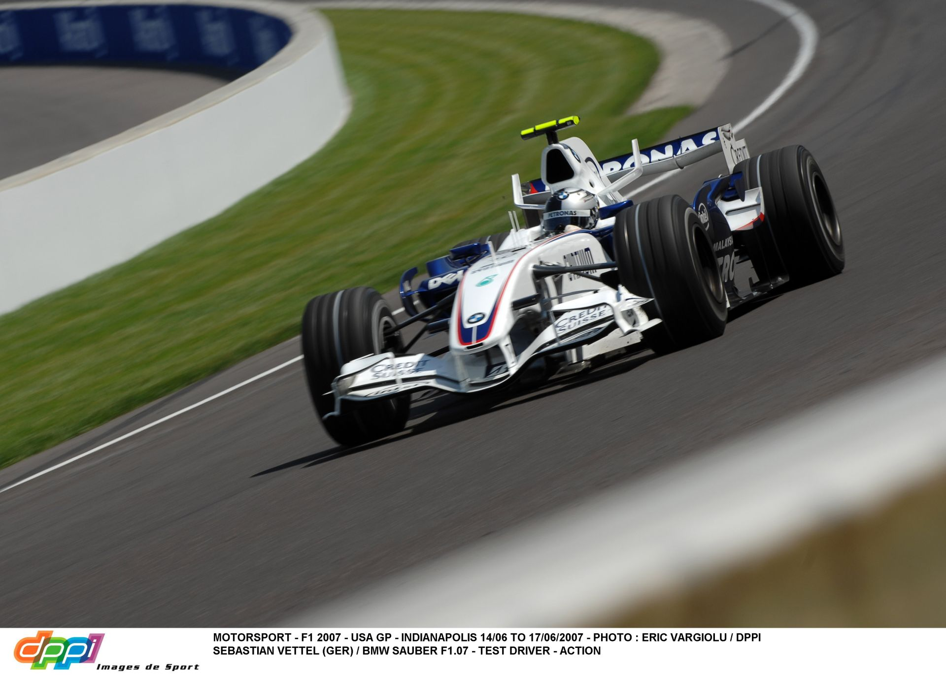 USA Nagydíj 2007: Start és az első körök – Alonso, Vettel…