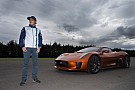 Massa az új James Bond film szuper-autóját vezethette: Jaguar C-X75