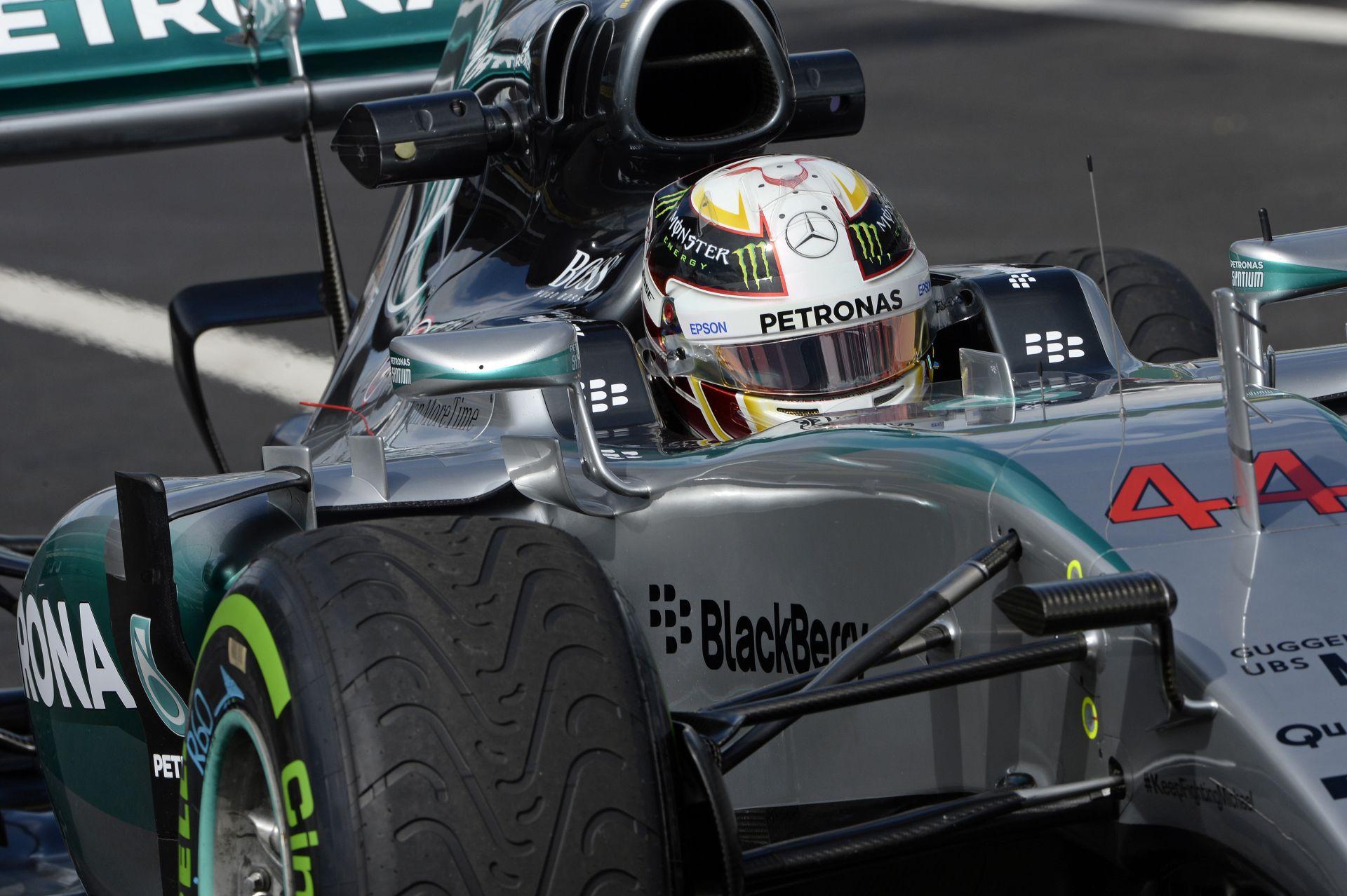 """Hamilton: """"Rosberg most jobb volt nálam…"""""""