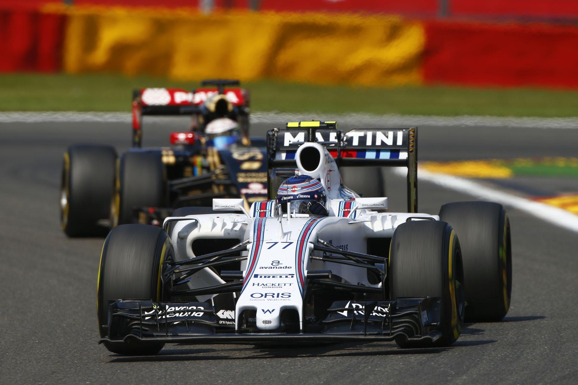Altat a Williams, de Massa és Bottas is gyorsnak érzi a gépet Monzában