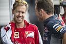 Vettel: Légyszi, valaki más arcába dugd a mikrofont!