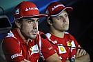 Massa elárulta, Alonso mellett lehetetlen volt boldognak lennie a Ferrarinál, ahol sokszor szinte semmibe vették