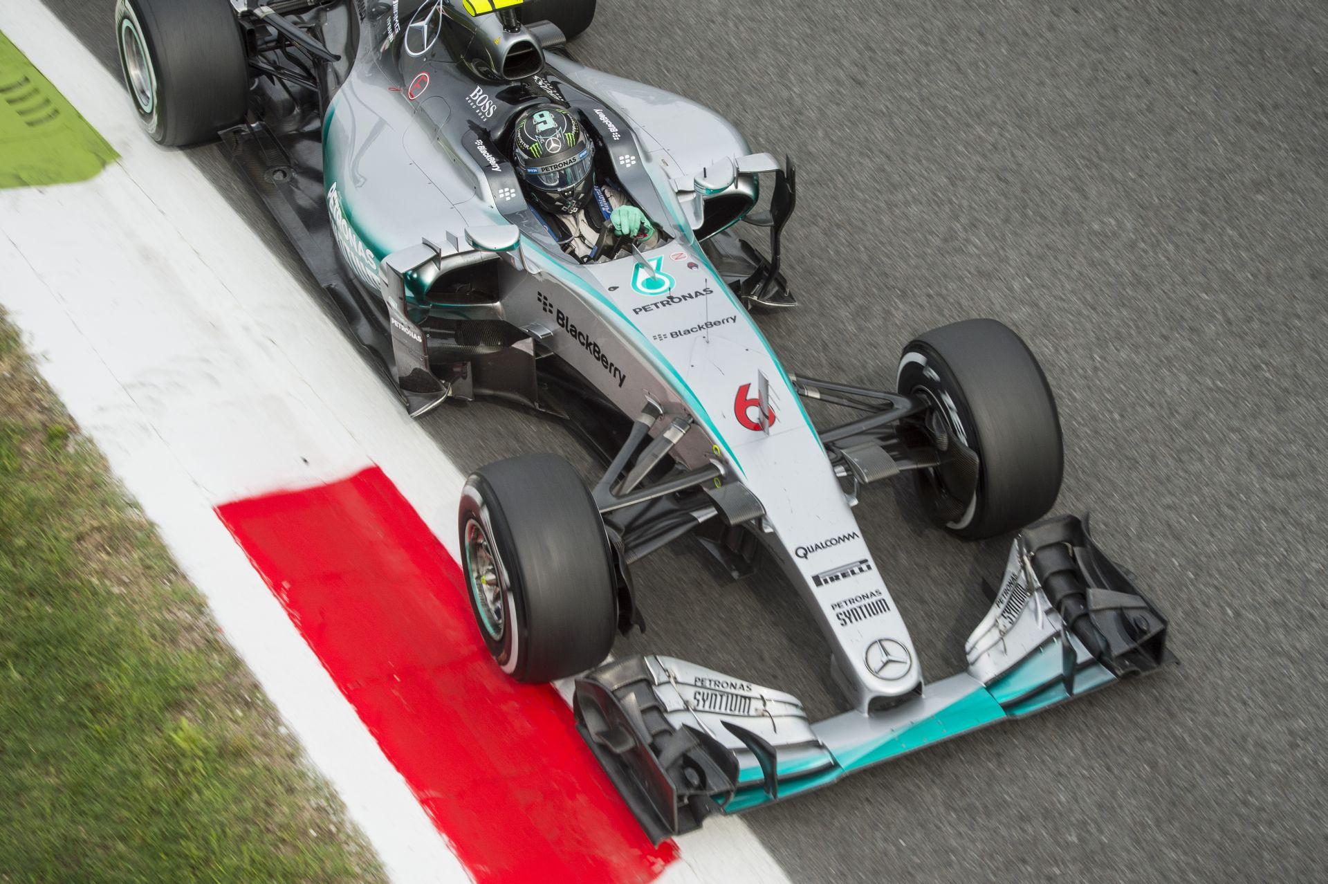 Rosberg fellélegezhet: a Monzában bevetett új Mercedes motor még használható!