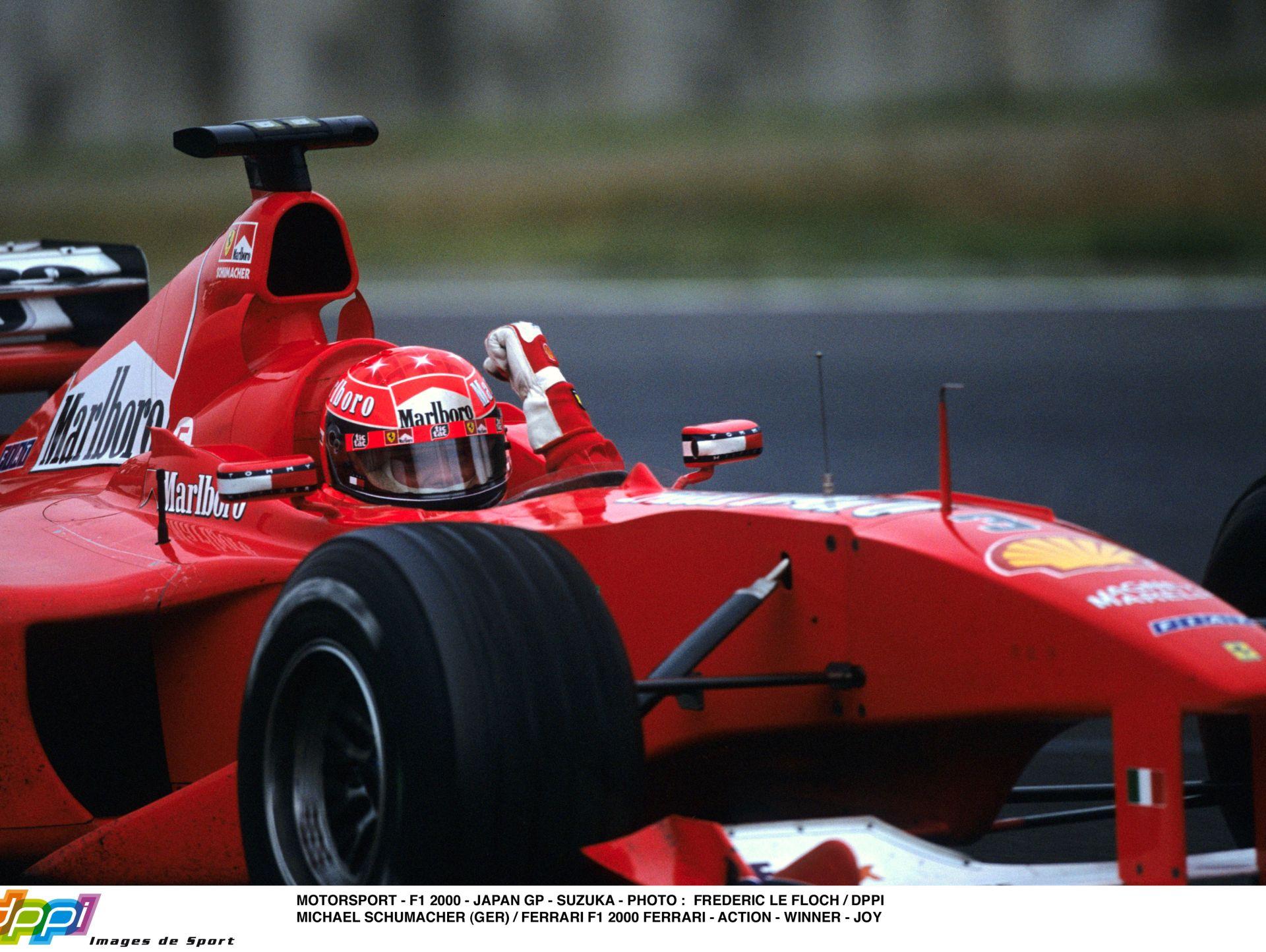 Schumacher élete egyik legjobb pillanata – 2000! Japán Nagydíj