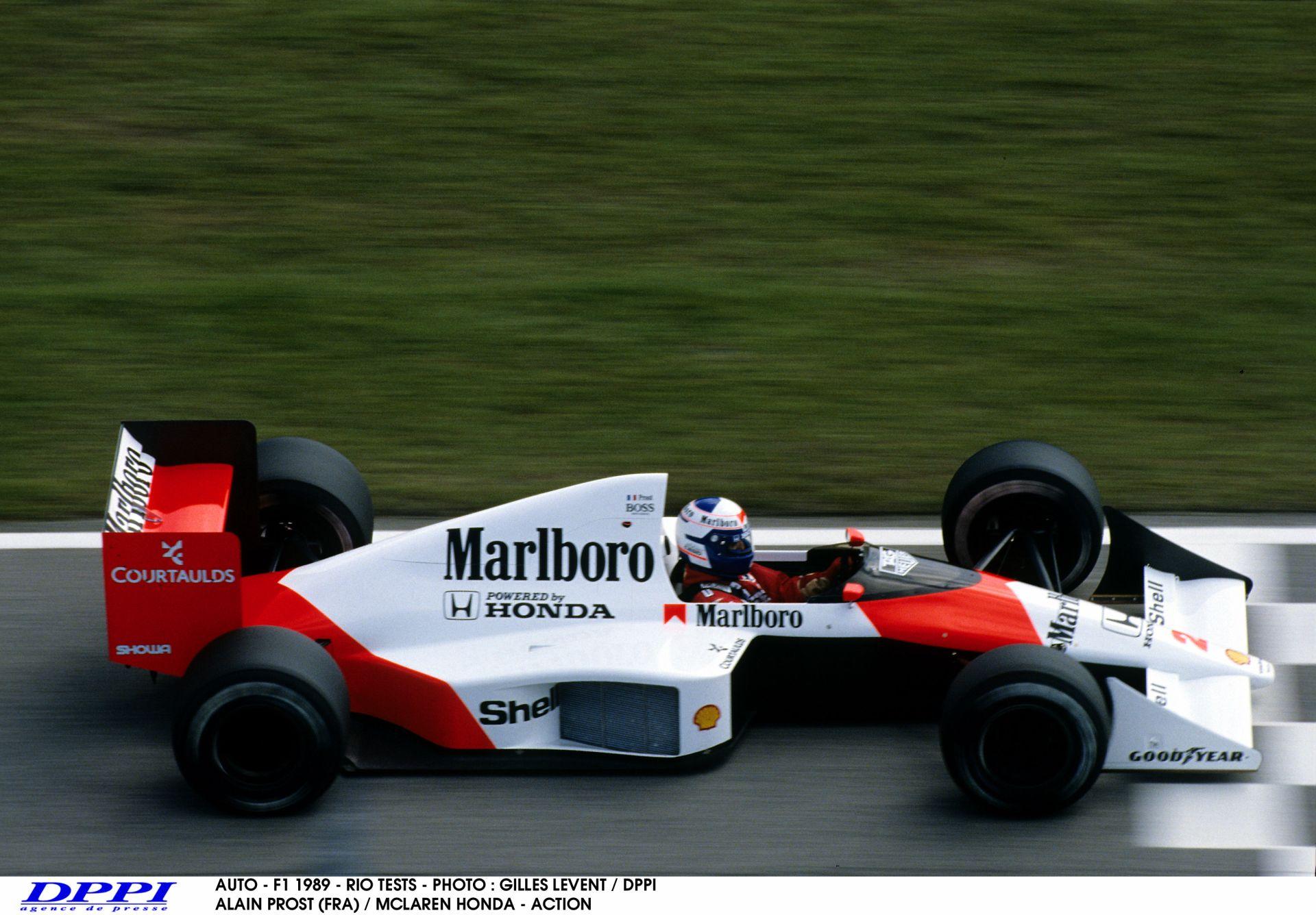 Amikor még kemény fizikai munka volt egy F1-es kör Suzukában: az 1989-es McLaren-Honda