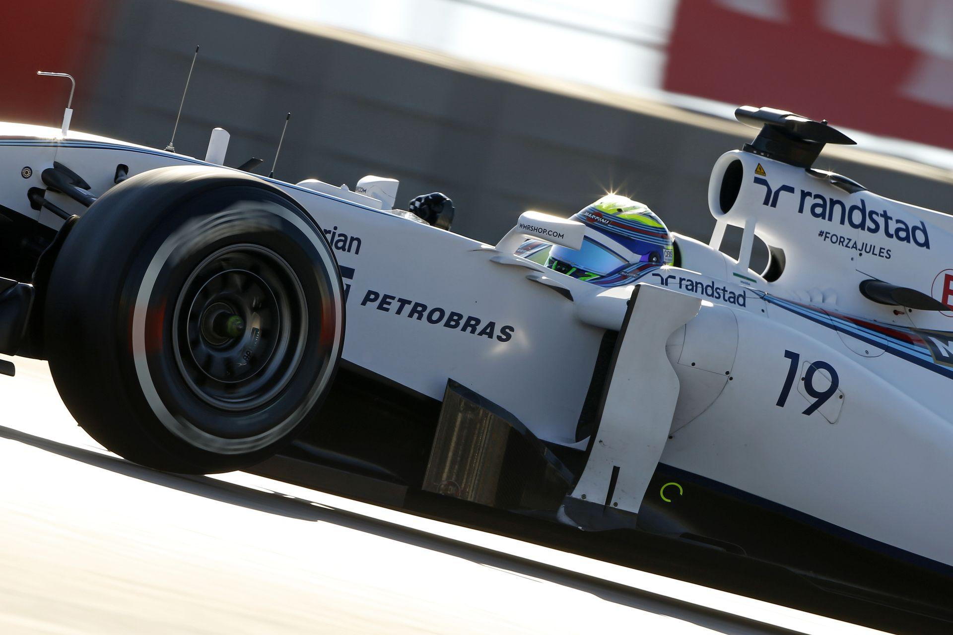 Williams: Massa lemaradt a dobogóról, Bottas csak 5. lett Austinban