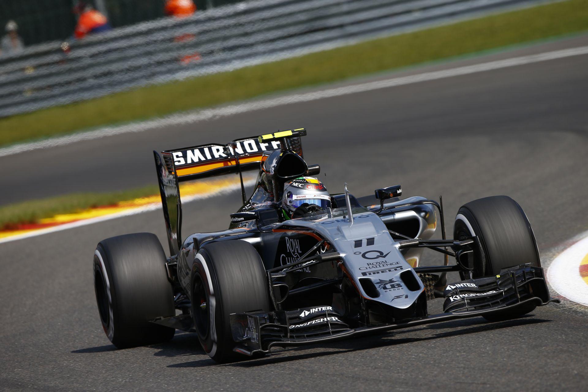 Pérez majdnem betette Hamilton mellé, de végül csak 5. lett a Force Indiával