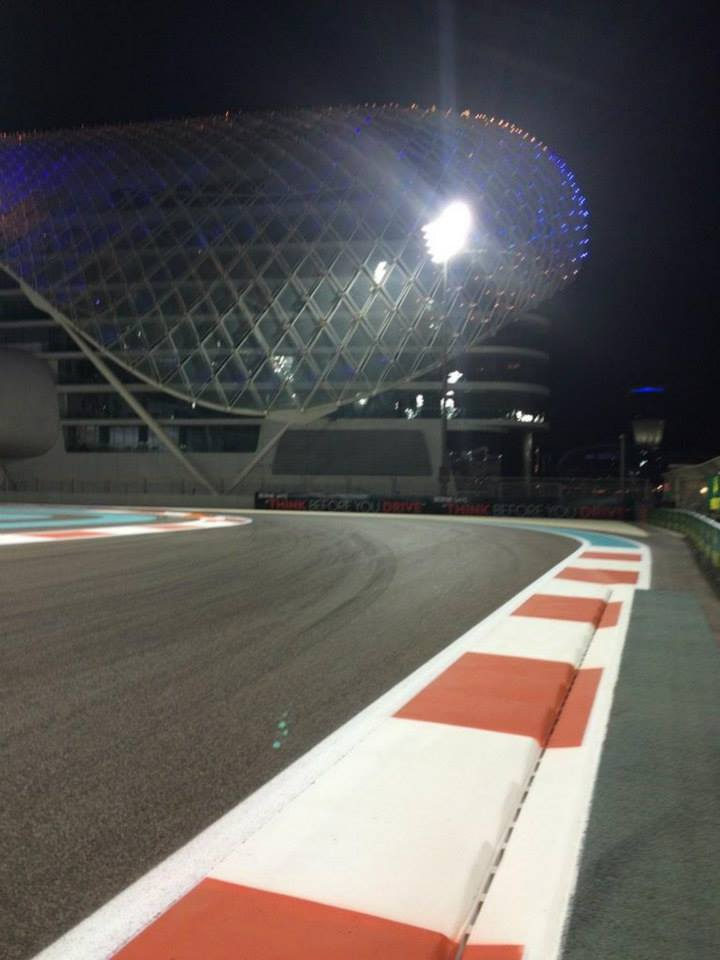 Williams: Egy laza kis pályabejárás Abu Dhabiban