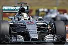 Délután is Hamilton volt a leggyorsabb a Hungaroringen! Kvyat második, Ricciardo harmadik, de elfüstölt alatta a Renault!