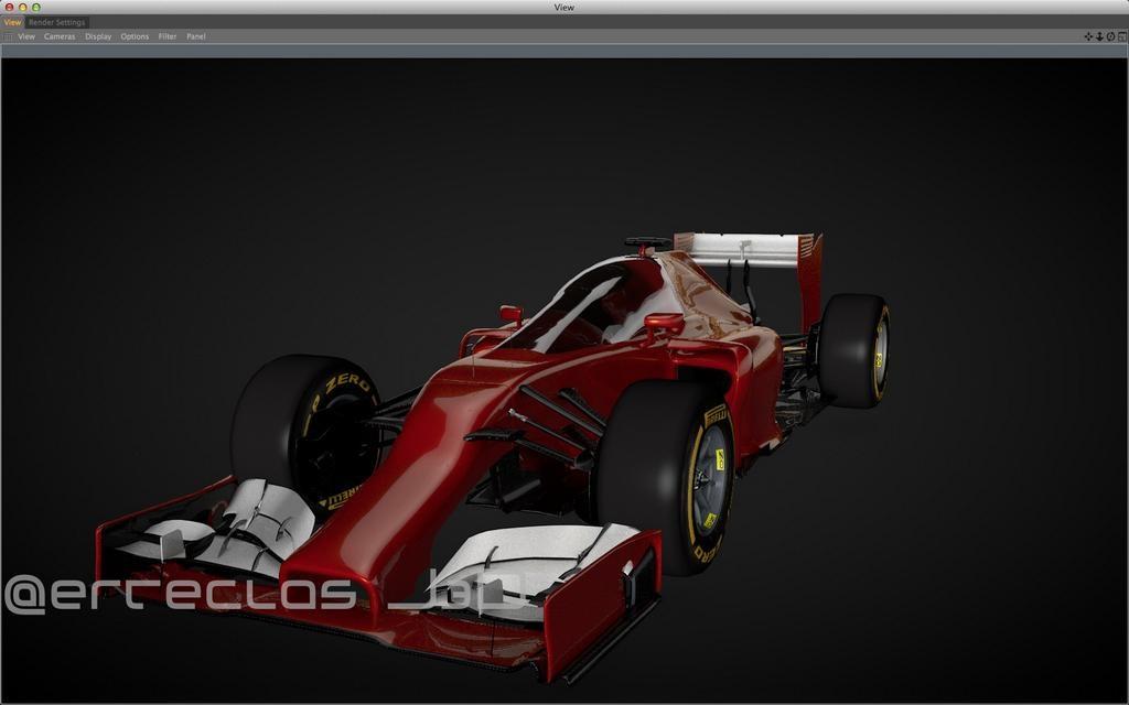 Így nézne ki a legújabb Ferrari fedett pilótafülkével
