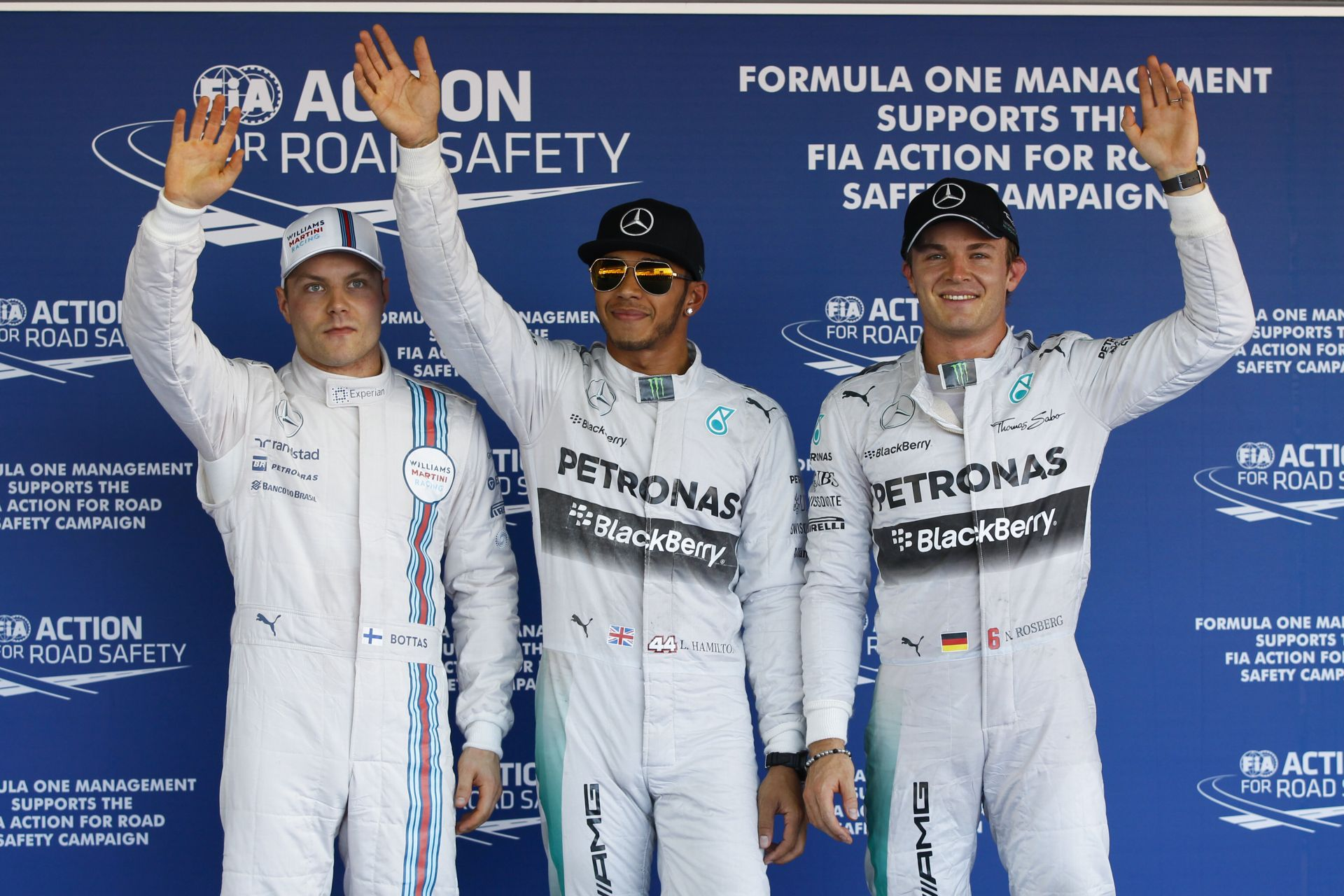 Hamilton Vs. Bottas a Q3-ban az orosz időmérőn: Onboard összehasonlítás