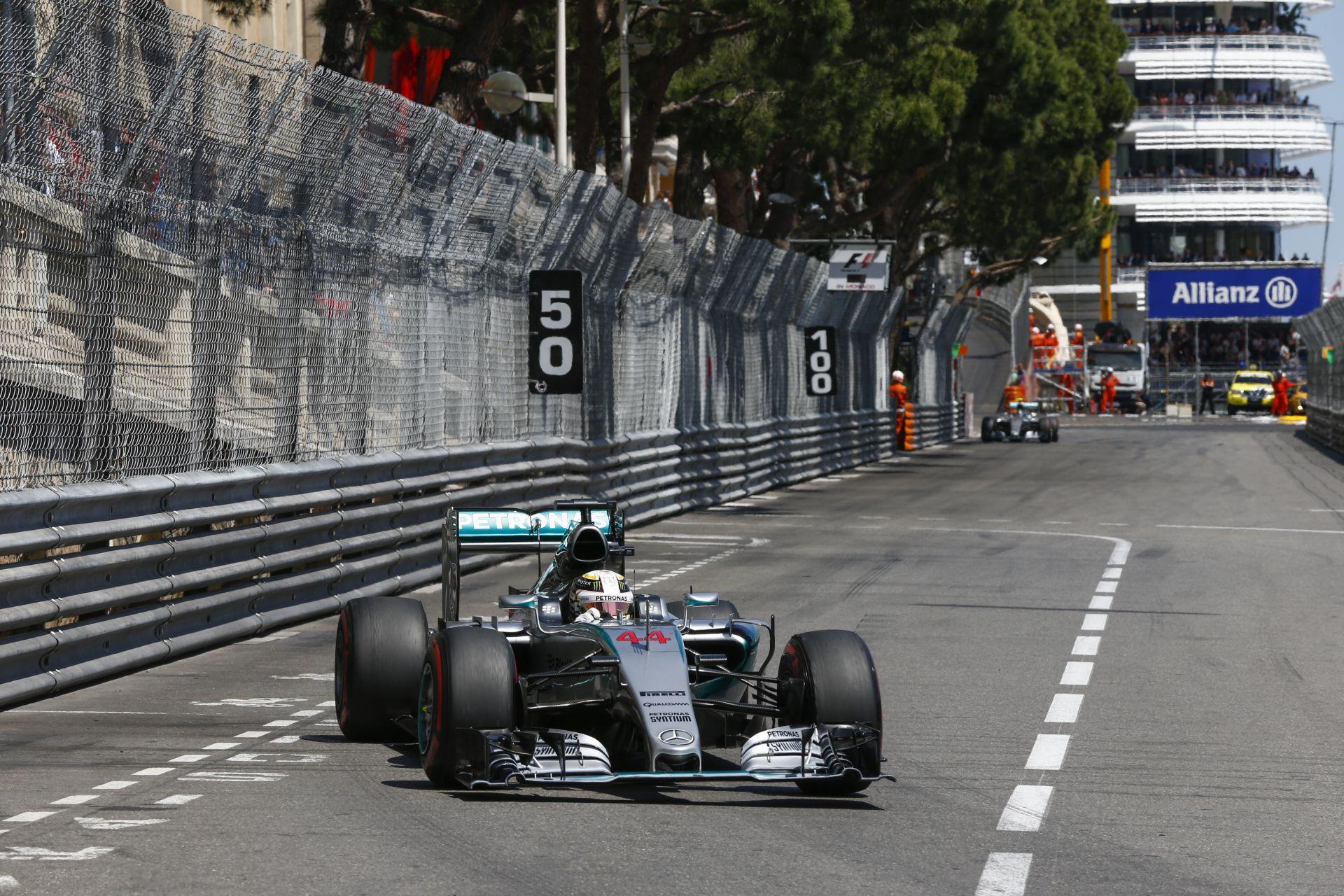 Még mindig nem tudjuk, Hamilton miért állt meg a Monacói Nagydíj után