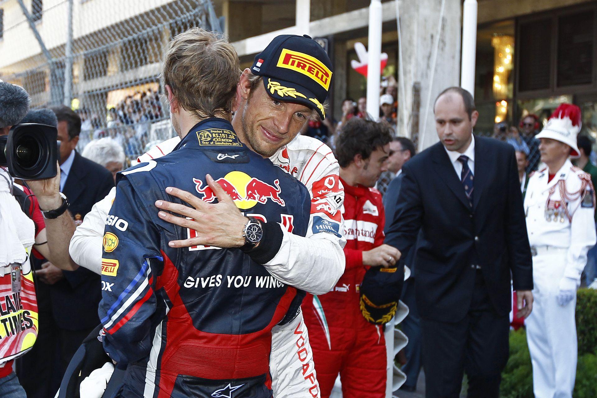 Button: Nagyobb kiívás lenne számomra Alonso, mint Vettel! Fernando a legkomplettebb versenyző!