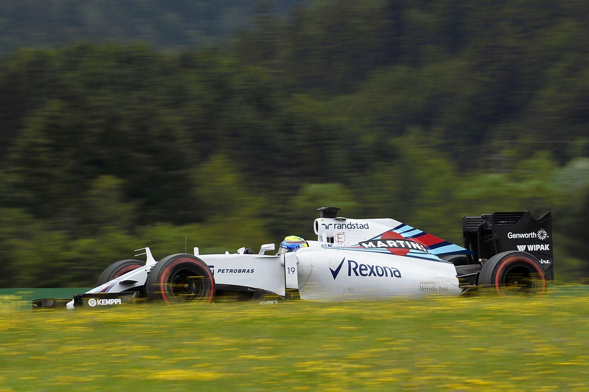 Massa boldog, Bottas csalódott Ausztriában